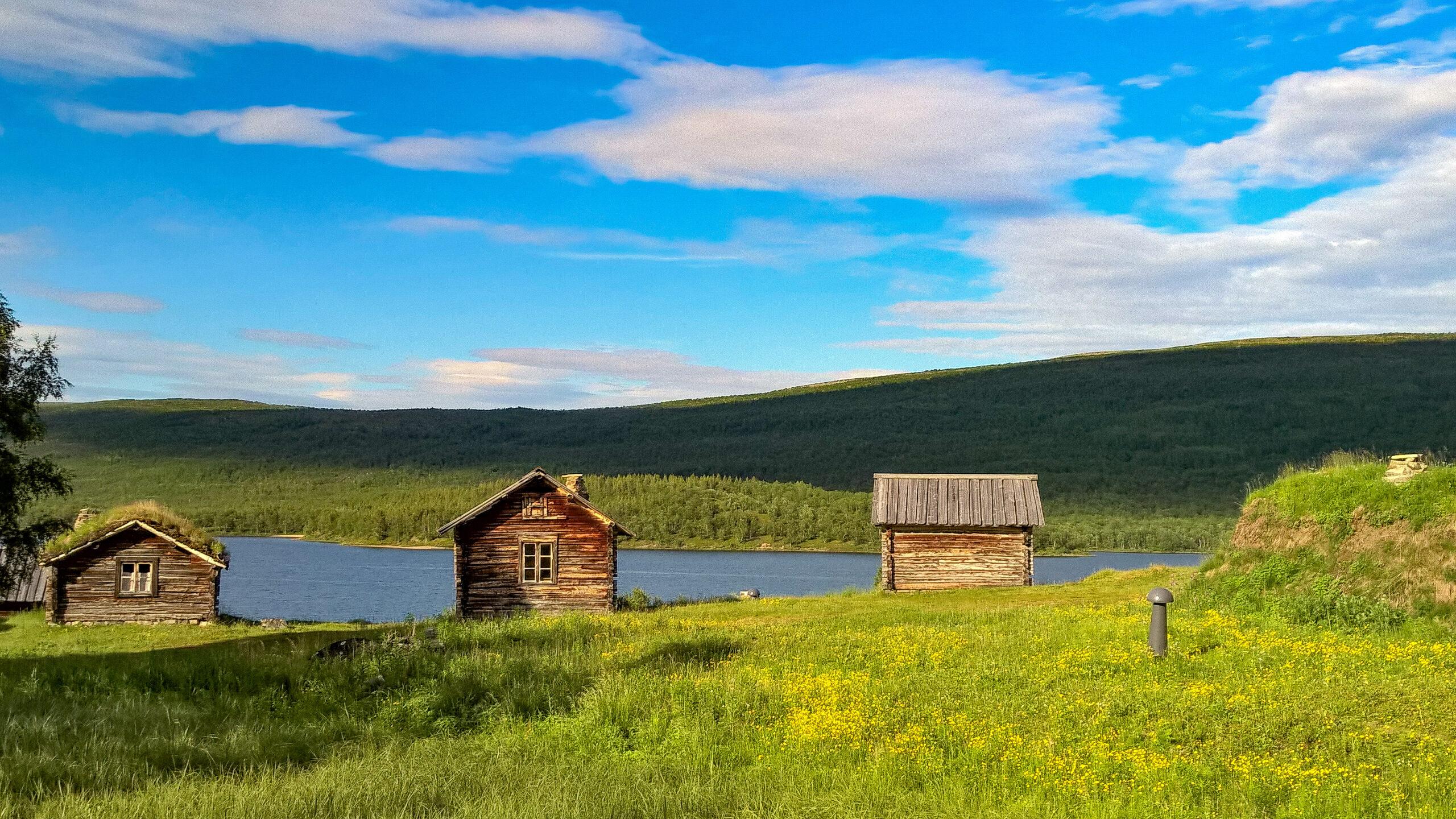 北欧の景色。